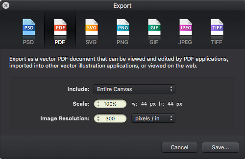 Векторные иконки при разработке в среде Xcode